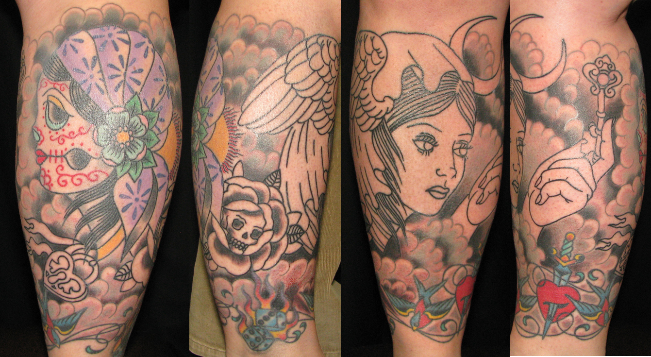 Lower leg sleeve of gypsies in