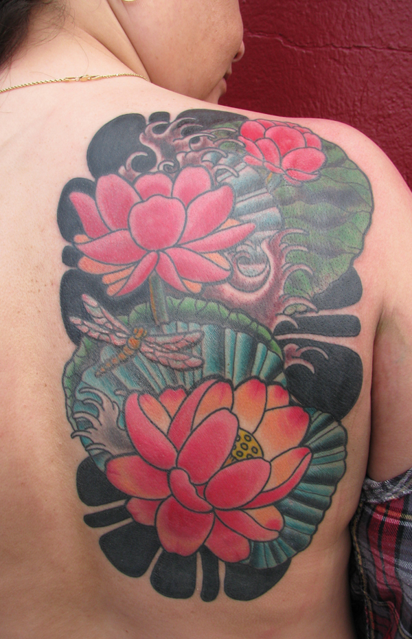 Lotus coverup finished