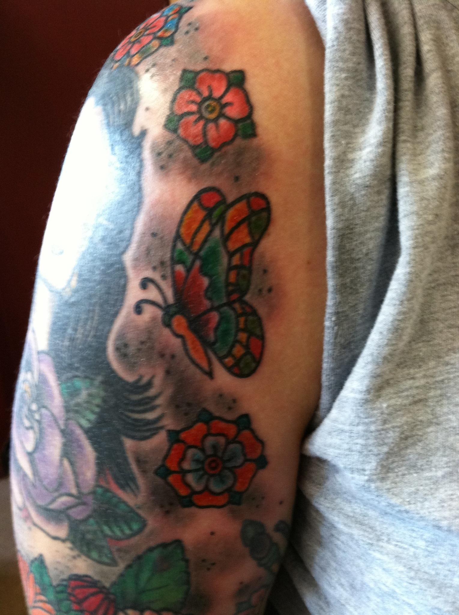 Sara Purr Tattoo