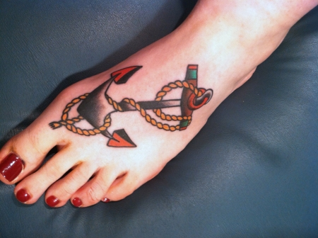 Sailor Jerry Anchor.