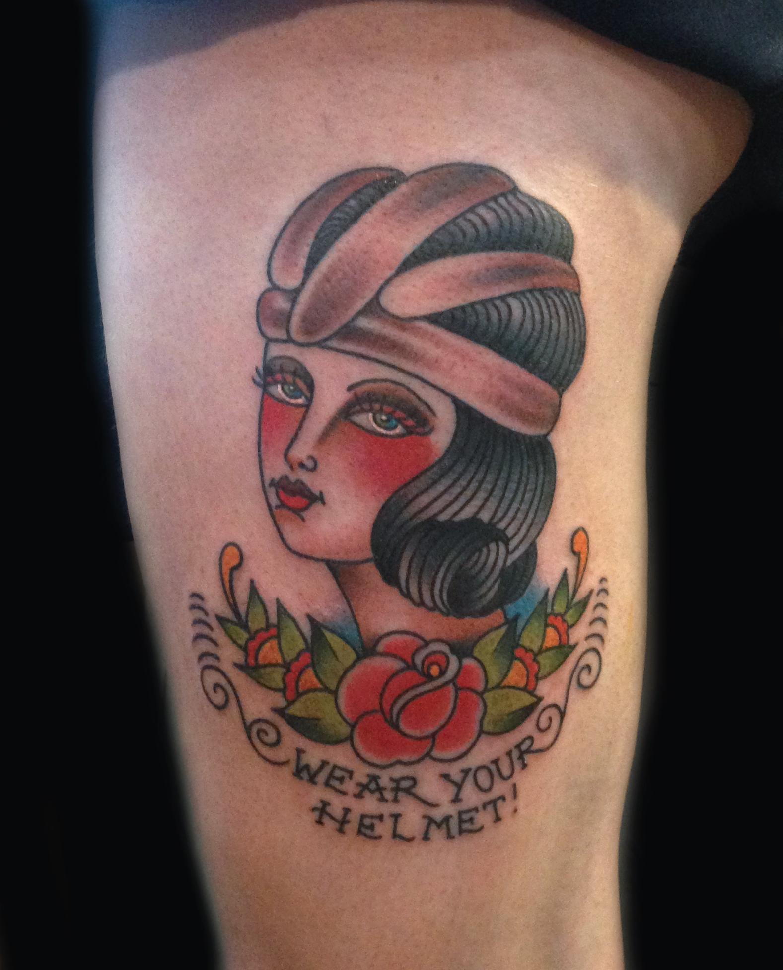 Black Baby Doll Tattoo: Japanese Inspired Tattoos